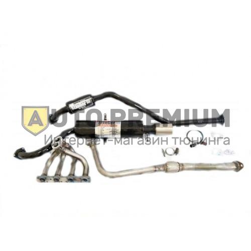 Выпускной комплект 4-2-1 ВАЗ 2101-2107 Классика 8V, глушитель с насадкой